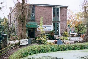 Katwijkseweg Wassenaar FLower Farm Lentevreugd Rijksdorp afgebroken