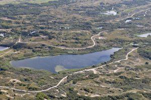Berkeide drone luchtfoto Grote Meer kavel 7
