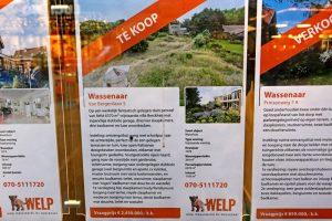 bord villa Berckheij Berkheide Wassenaar Rijksdorp