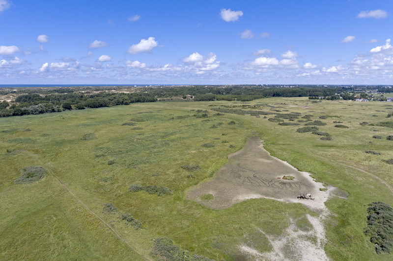Lentevreugd drone Berkheide luchtfoto