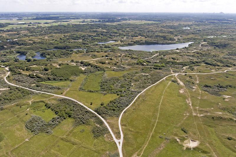Berkheide drone luchtfoto kavel 11 12a akkertjes