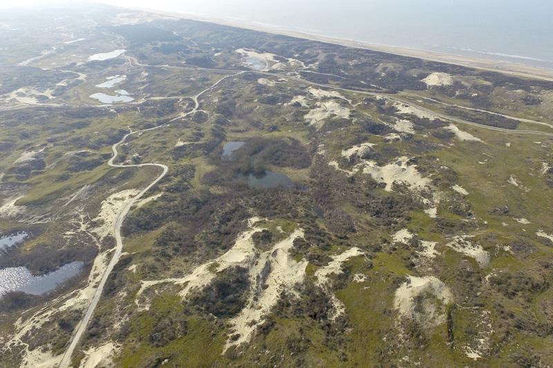 Berkheide Monkedel drone luchtfoto kavel 6