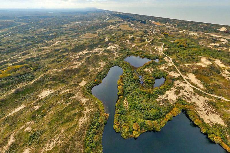 Berkheide drone luchtfoto kavel 6