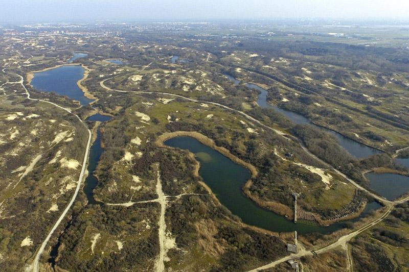 Berkheide drone luchtfoto kavel 7