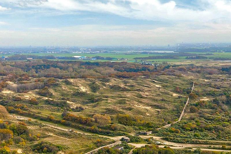 Berkheide drone luchtfoto kavel 7a
