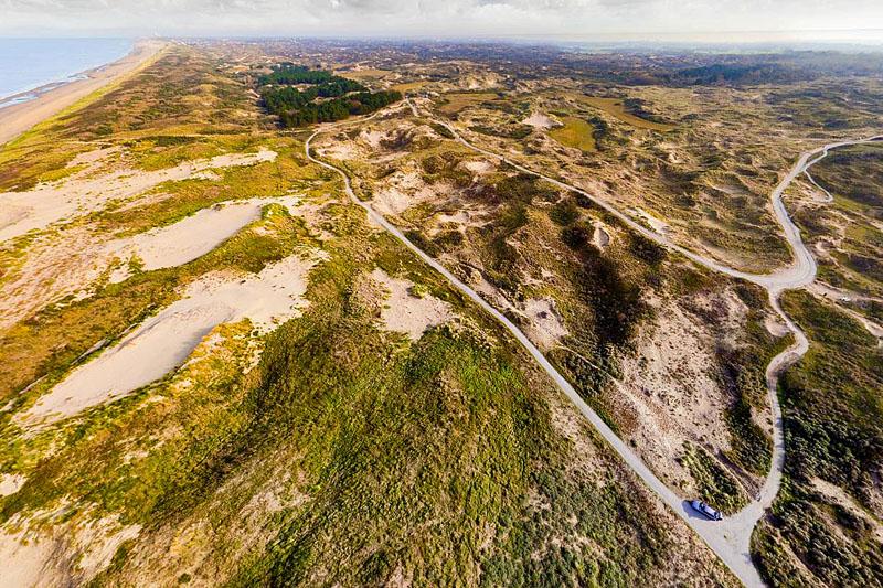 Berkheide drone luchtfoto kavel 4a