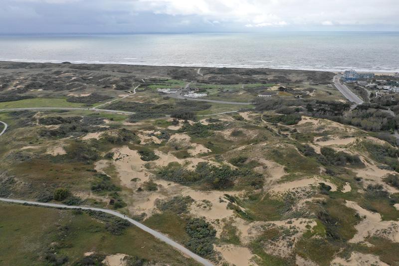 Berkheide kavel 11 Hanengekraai luchtfoto drone