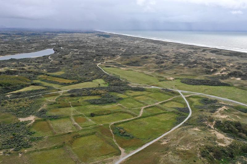 Berkheide kavel 11 luchtfoto drone Dorendel