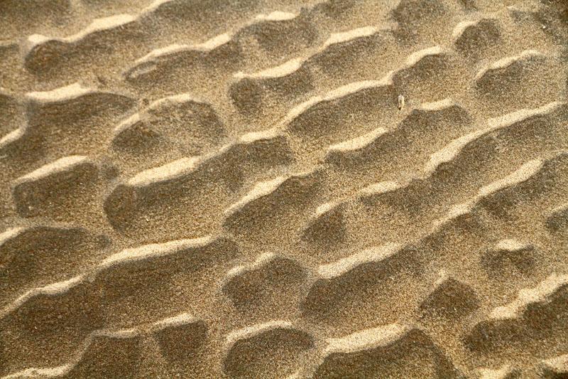 Berkheide strand zand patronen