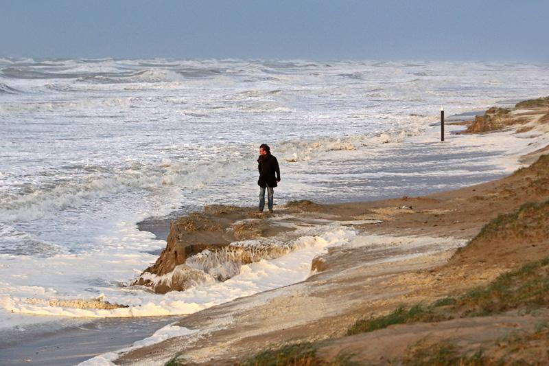 strand storm Berkheide paal 92 duinafslag