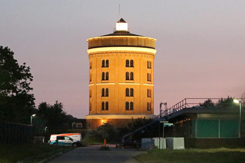 Watertoren Berkheide verlicht monument
