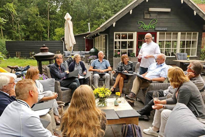 Projectgroep boek Bijzonder Berkheide Panbos restaurant terras