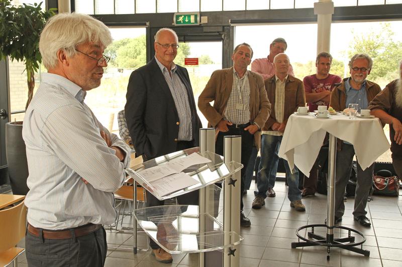 Joost Reisen presentatie boek Vogels veranderend duin Berkheide