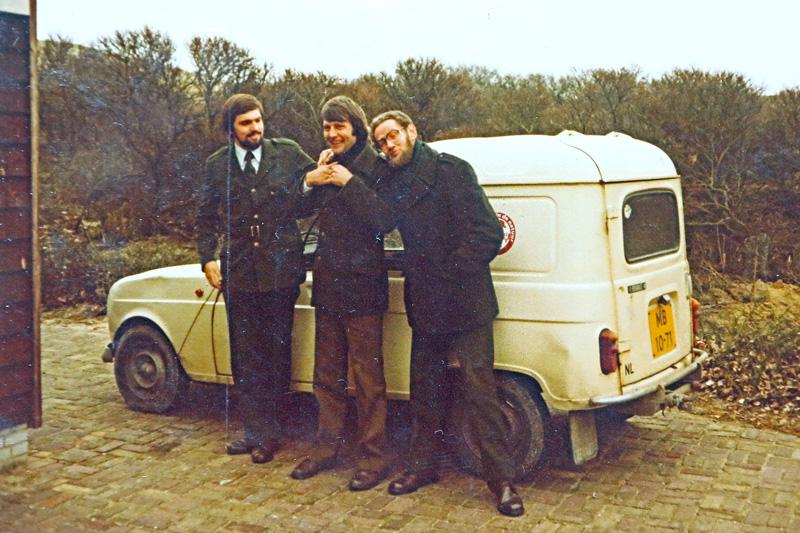 Staatsbosbeheer dienstauto Edwin Huge Peter van Deursen Frans van den Berg