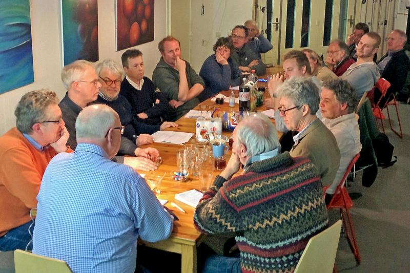 Werkgroep Berkheide vergadering