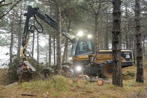 Gaznenhoek dunning Harvester oogstmachine