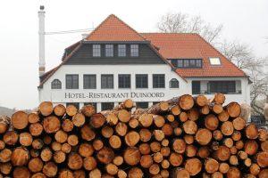 stapel hout dennen dunnen Ganzenhoek Wassenaar Duinoord