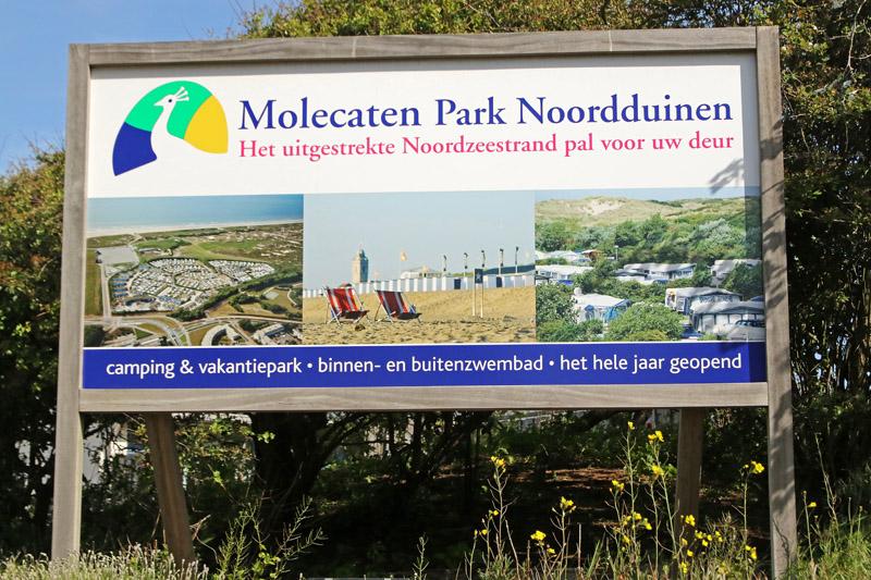 Bord Molecaten Park Noordduinen Coepelduynen Wantveld Katwijk
