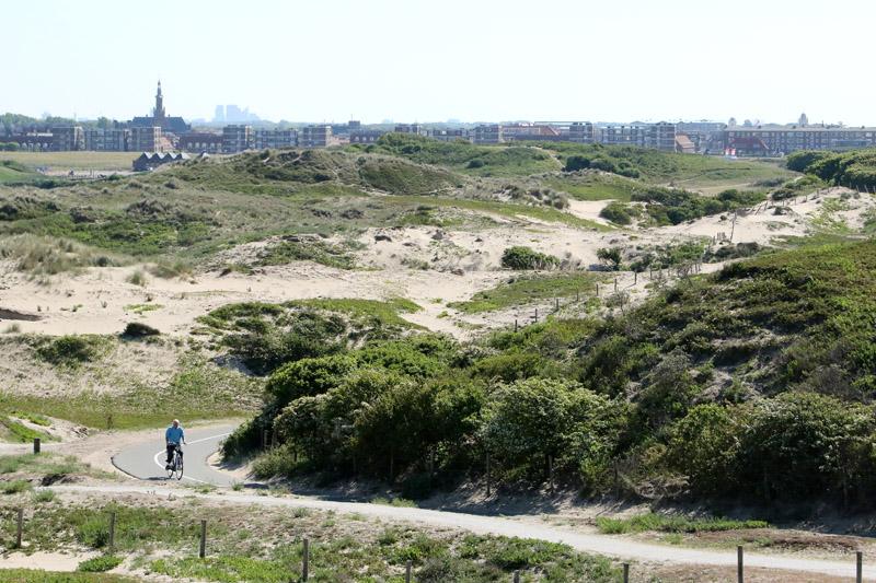 Coepelduynen uitzicht panorama Katwijk Den Haag