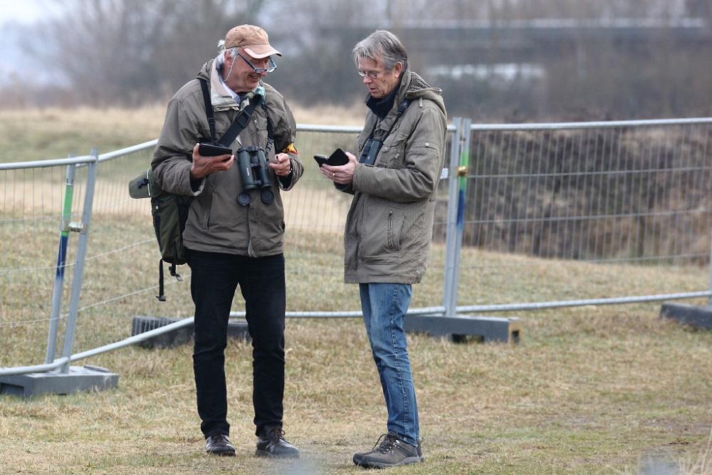 Joop de Leeuw en Gijsbert van der Bent - Avimapinstructie op Lentevreugd 28 feb 2021 - Ed Schouten